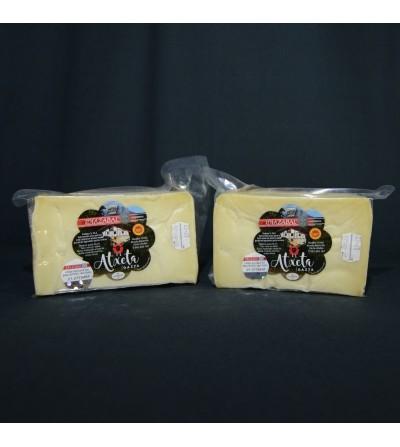 queso natural atxeta gazta dos medios
