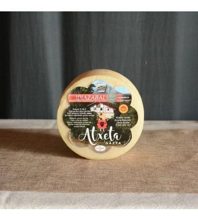 queso entero natural atxeta gazta
